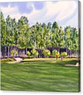 Pinehurst Golf Course 17th Hole Canvas Print