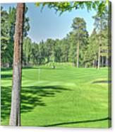 Pinetop Country Club - Hole #18 - Photos Canvas Print
