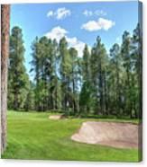 Pinetop Country Club Photos Canvas Print