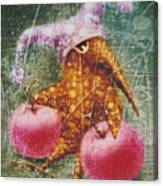 Pink  Apples Canvas Print