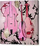 Pink Baroque Canvas Print