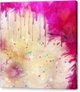 Pink Celebration Canvas Print