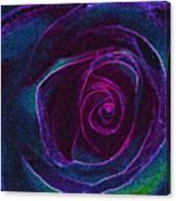 Pink Center Canvas Print