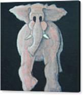 Pink Elephant 1 Canvas Print