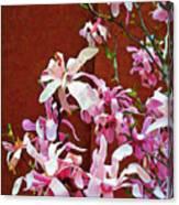 Pink Floral Arrangement Canvas Print