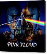 Pink Floyd Montage Canvas Print
