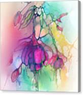 Pink Fuchsia Canvas Print