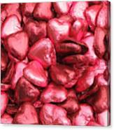 Pink Heart Chocolates II Canvas Print