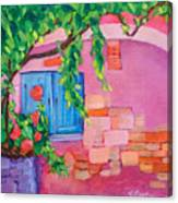 Pink Home Canvas Print