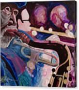 Pink Jazz Canvas Print
