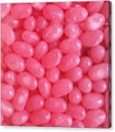 Pink Jelly Beans Canvas Print