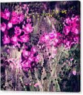 Pink Majestic Garden- Art By Linda Woods Canvas Print
