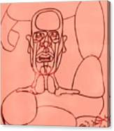 Pink Man Canvas Print