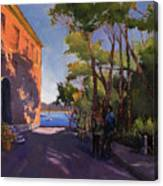 Pink Palazzo Canvas Print