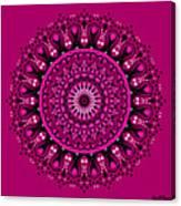 Pink Passion No. 3 Mandala Canvas Print