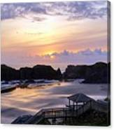 Pink Pastel Sunset Canvas Print