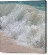 Pink Sand Beaches Canvas Print