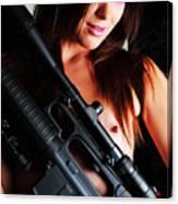 Pink Sniper Canvas Print