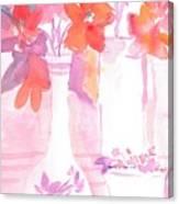 Pink Still Life Canvas Print