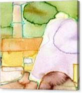Pink Sugar Heap Canvas Print