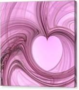 Pink Valentine Canvas Print