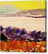 Pinnacle Mountain...arkansas River Canvas Print