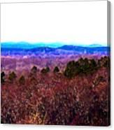 Pinnacle Valley Canvas Print