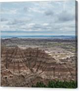 Pinnacles Overlook Panorama  Canvas Print