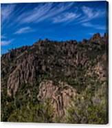 Pinnacles View Canvas Print