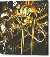 Pins Of Horror Fashion Canvas Print