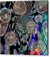 Pinwheels Of Fun Canvas Print