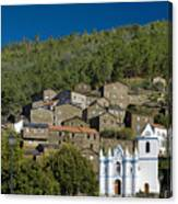 Piodao Village Church Canvas Print