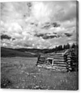 Pioneer Cabin Canvas Print
