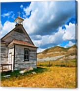 Pioneer Church 1 Canvas Print