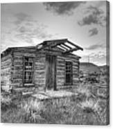Pioneer Home - Nevada City Ghost Town Canvas Print