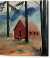 Pioneer School House Canvas Print