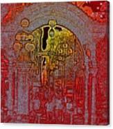 Pioneer Square Pergola 2 Canvas Print