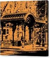 Pioneer Square Pergola Canvas Print
