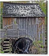 Pioneer Water Mill Canvas Print