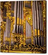 Pipe Organ Detail Canvas Print
