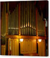 Pipe Organ Canvas Print