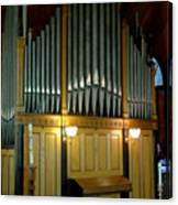Pipe Organ Of Old Canvas Print