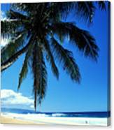Pipeline Beach Canvas Print