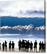 Pipeline Shadowland - 1 Of 3 Canvas Print