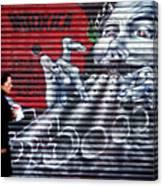 Piper At The Gates Of Portobello Canvas Print
