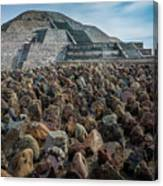 Piramide De La Luna Canvas Print