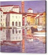 Piran Canvas Print
