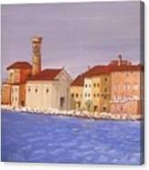 Piran The Lighthouse Canvas Print