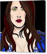 Pirate Girl Canvas Print