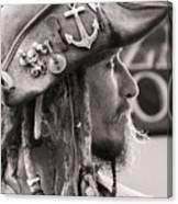 Pirate Profile Canvas Print